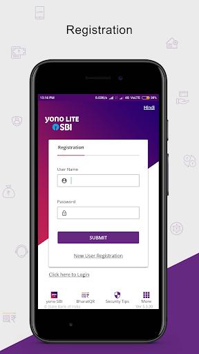SBI Anywhere Personal - Mobile Banking Application  screenshots 2
