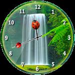 Waterfall Analog Clock Icon