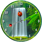 Waterfall Analog Clock