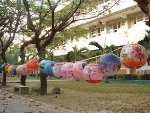 Photo: 學生參與奠安宮燈會的作品
