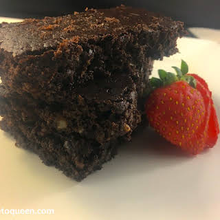Low Carb Keto Brownies.