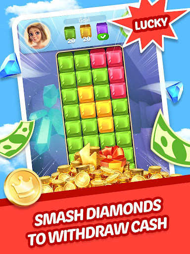 Lucky Diamond – Jewel Blast Puzzle Game to Big Win 1.1.8 screenshots 1