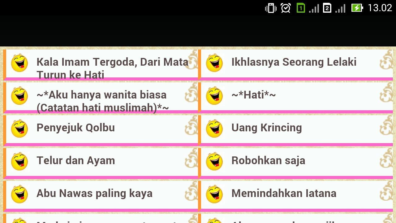 Cerita Lucu Islami Apl Android Di Google Play
