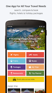 ixigo Flights & Hotels- screenshot thumbnail