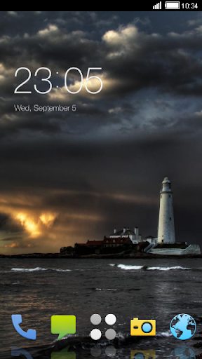 Lighthouse Sunset CLauncher