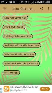 Lagu-Kids Jaman Now | App Report on Mobile Action
