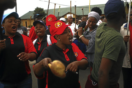 NUM-affiliated miners at Sibanye Stillwaters have ended the strike but two of their members have died in the violence. /Kabelo Mokoena