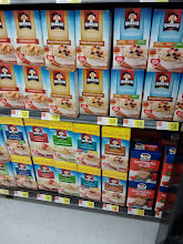 Photo: Ran over to the oatmeal aisle to grab some oatmeal for the kids.