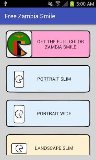 Free Zambia Smile