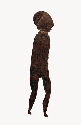 Bronze votive figure