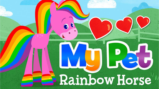 My Pet Rainbow Horse for Kids Apk Download Free for PC, smart TV