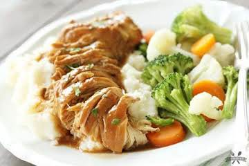 Slow Cooker Chicken and Gravy - Southern Bite