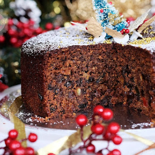 Quick and Easy Christmas Fruit Cake.