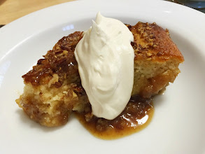 Photo: Maple-Bourbon Banana Pudding cake
