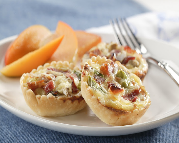 Bacon and Mushroom Bite-Size Quiche