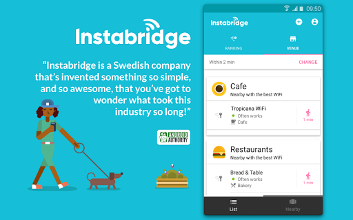 Instabridge - Free WiFi Passwords and Hotspots screenshot 2