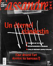 Photo: © Olivier Perrot Couverture Cassandre 39 http://www.horschamp.org