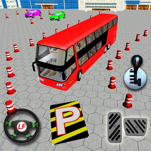 Modern Coach Bus Parking Simulator