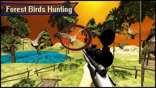 Télécharger Forêt 3D - Chasse aux oiseaux - Tireur d'élite APK MOD (Astuce) screenshots 5