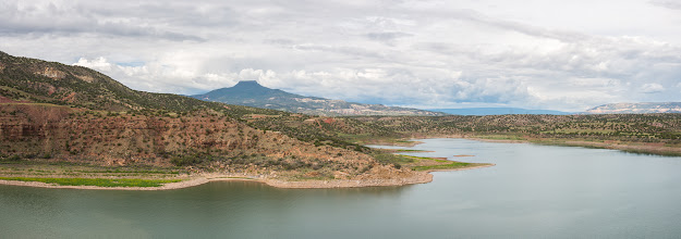 Photo: Abiquiu Lake;PEEC Waterfall Hike