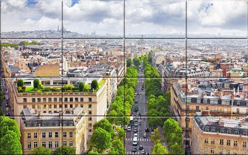 Tile Puzzle France  screenshots 6