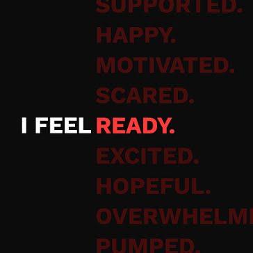 I Feel Ready - Instagram Post template