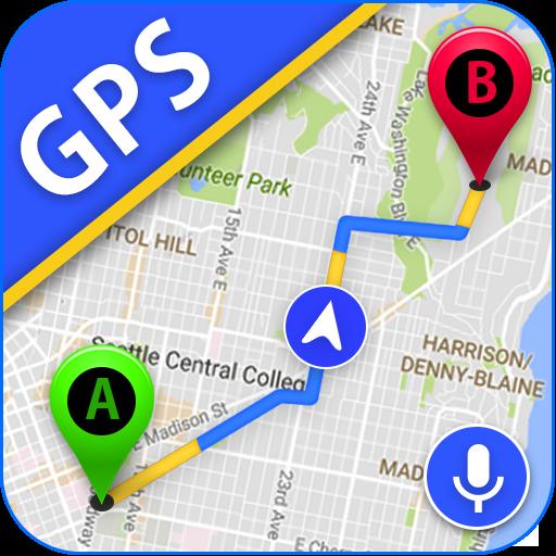 GPS navegación, satélite mapa Y viaje dirección