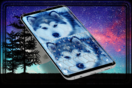 Wild Wolf keyboard HD - náhled