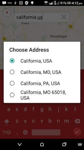 GPS Map Free  screenshots 3