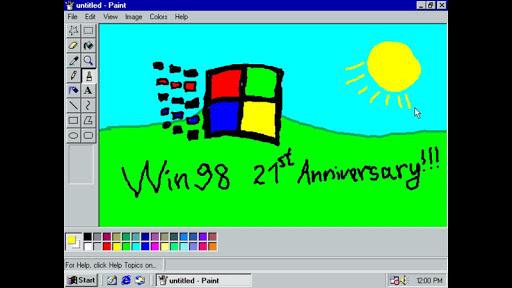 Win 98 Simulator 1.4.1 screenshots 13