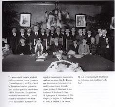 Photo: 1935 afscheid in raadzaal van burgemeester Vermeulen