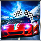 New Snow Race Car stunt 3D-Real Racers Game