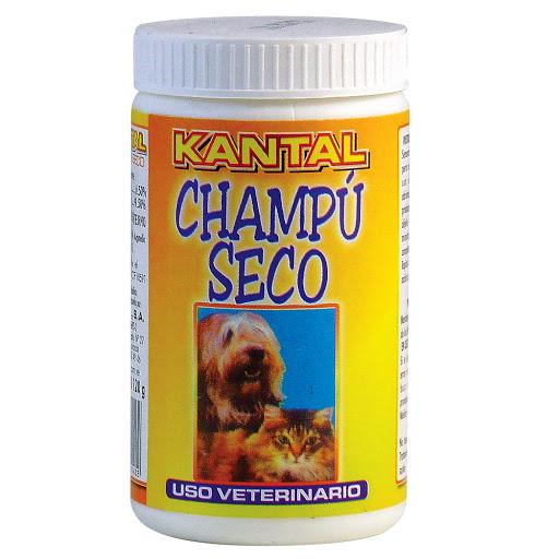 champu para mascotas kantal seco 120gr