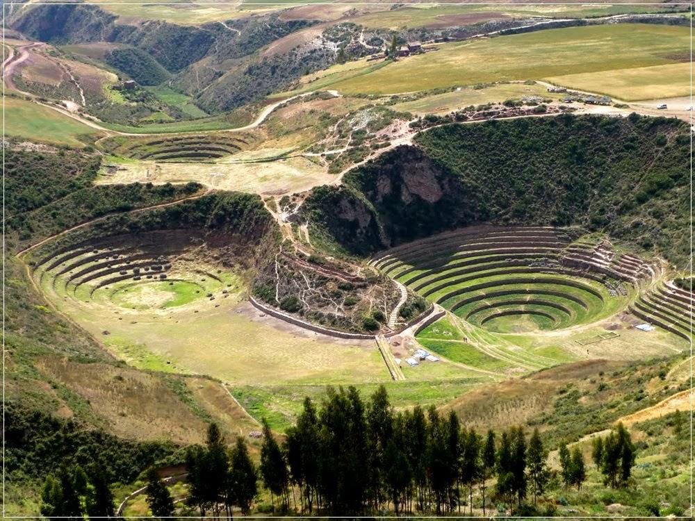 Moray, os terraços circulares dos incas