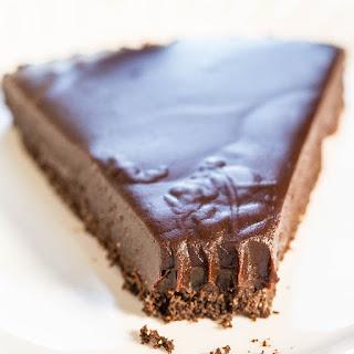 Chocolate Honey Almond Tart.