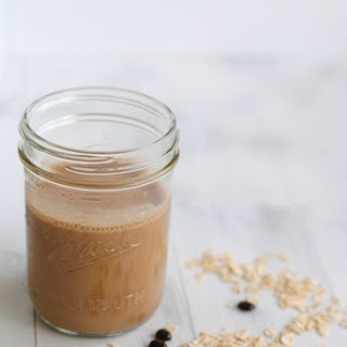 Mocha-Banana Breakfast Smoothie.