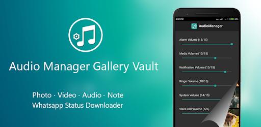 Audio Manager Gallery Vault Hide Photos Videos Apk App