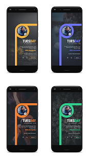 PROJECT 'O' for KLWP Screenshot