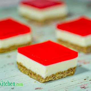 Low Carb Jelly Slice