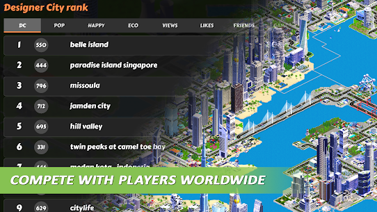 Designer City: building game MOD APK (Unlimited Gold) 5