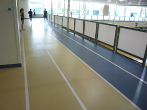 Photo: The ARC running track.