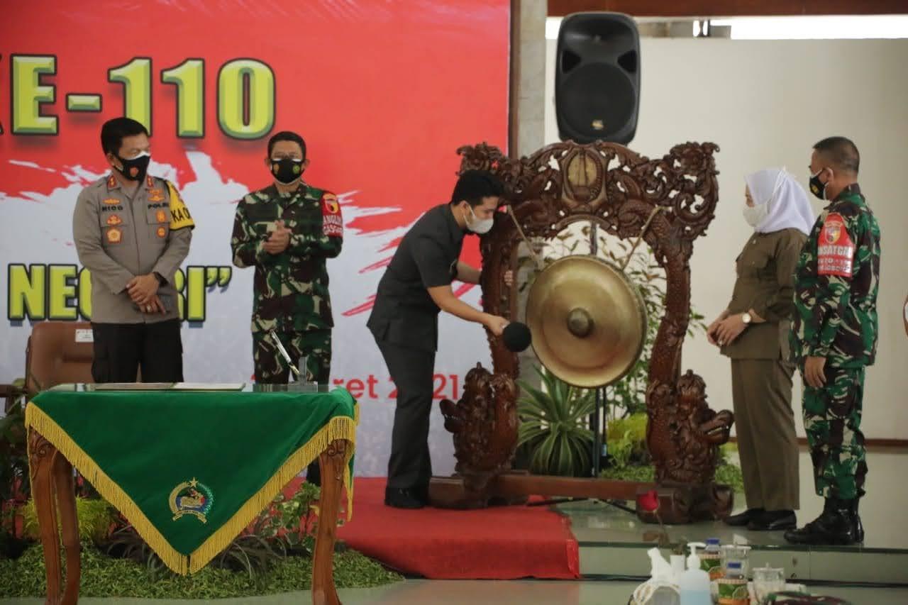 TMMD ke-110 di Bojonegoro Jawa Timur