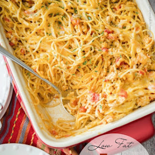 Low Fat Taco Spaghetti Casserole Recipe