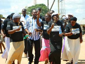 Photo: Peke Dancing with Minister of Parliament Hon. Badi