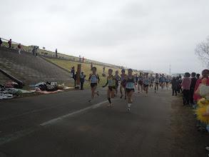 Photo: 午前9時 いよいよフルマラソンがスタート!