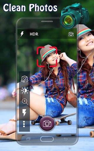 DSLR Camera - Ultra Zoom Blur Background screenshot 1