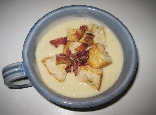 Roasted Garlic Soup Recipe