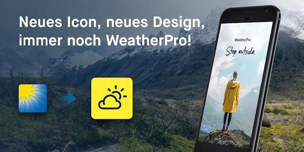 WeatherPro: Wetter, Radar & Widget Screenshot