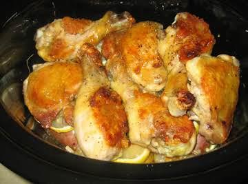 Honey Lemon Chicken in Crock Pot