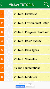 Learning VB.Net programming- screenshot thumbnail